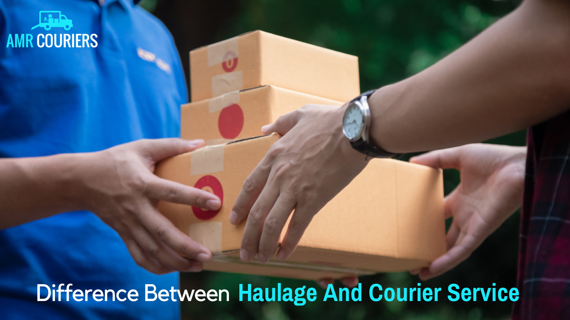 Time To Choose Between Haulage Service And Courier Service